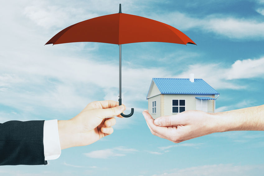 Protect your home with homeowners insurance.